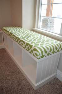 Diy Bench Seat Foam Patio Cushion Storage Box Plans Yard