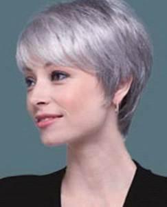 Coupe Cheveux Gris Femme 60 Ans : coupe cheveux blancs femme 50 ans zy46 jornalagora ~ Voncanada.com Idées de Décoration