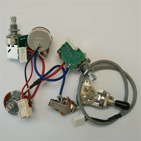 real epiphone pro wiring harness push pull alpha pots switch fit gibson les paul ebay