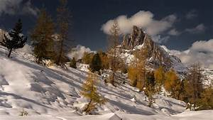 Mountain, Covered, With, Snow, Hd, Nature, Wallpapers