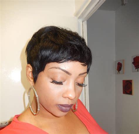 Cut Weave Hairstyles by Pixie Wig Using 27 Hair Black Hair