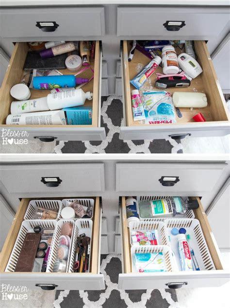 drawer organizing tips    mess  bay