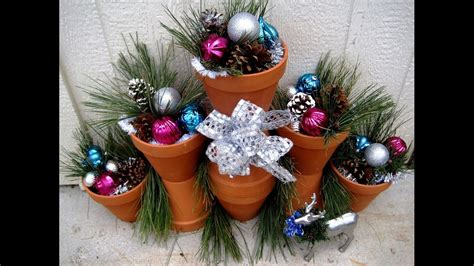 How To Make Decorations - outdoor decorations using terra cotta pots