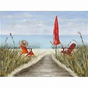 Tableaux Mer Et Plage : tableau paysage peinture pier import ~ Teatrodelosmanantiales.com Idées de Décoration