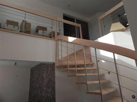 escalier et garde corps design bois metal et verre calcul escalier 26