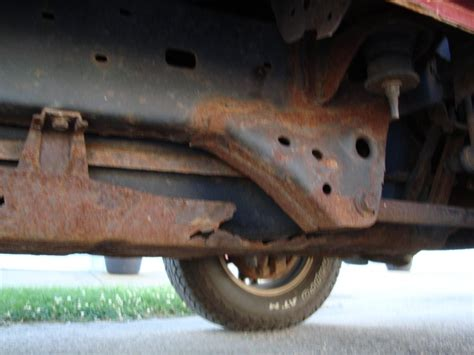 rust frame toyota 4runner 2002 excessive suspension rear complaints vehicle