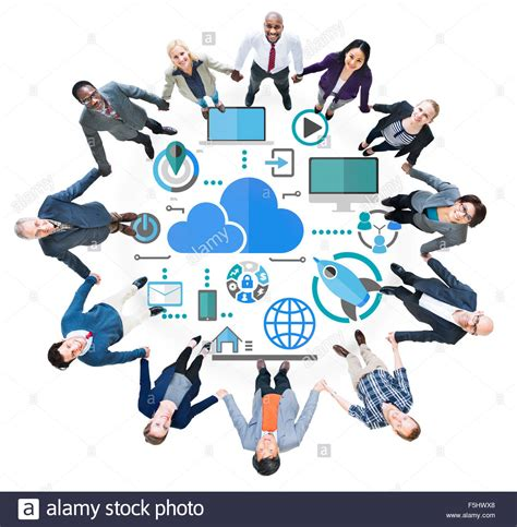 Circuit Board Desktop Background Big Data Sharing Online Global Communication Teamwork Concept Stock Photo 89518640 Alamy