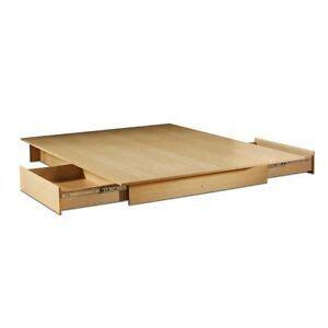 full size modern platform bed frame    bed