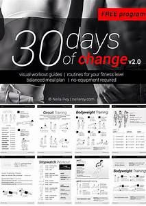 30 Day Workout Plan  Total Body