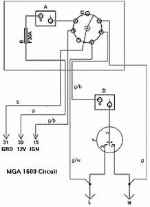 four way flashers mga 1500 or 1600 with switch With four way switch wiring diagram additionally turn signal flasher wiring