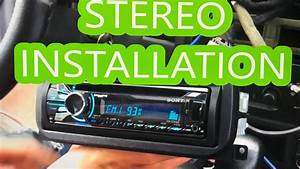 Jeep Grand Cherokee  U0026 39 99 Deck  Radio Install