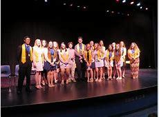 National Honor Society induction at Matanzas High School