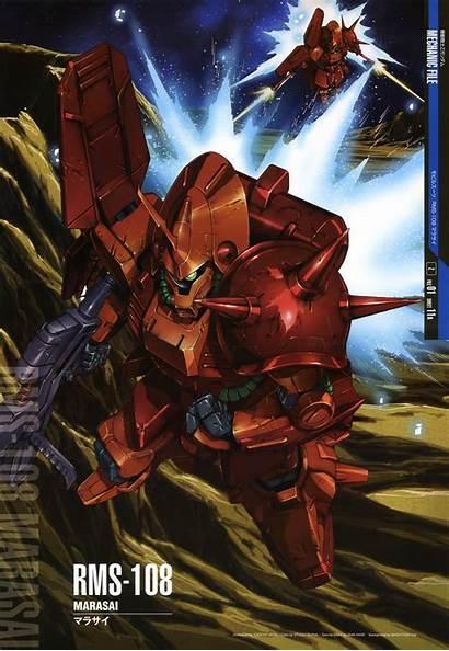 Gundam Marasai Mobile Suit Rms Mechanic Zeta