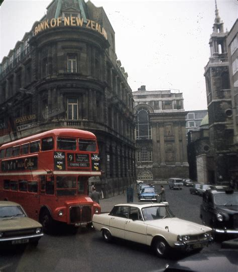 marvellous kodachrome pictures  london   flashbak