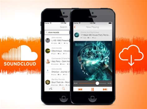 application iphone telecharger soundcloud