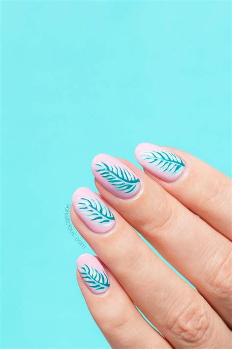 palm leaf nails  opi fiji collection