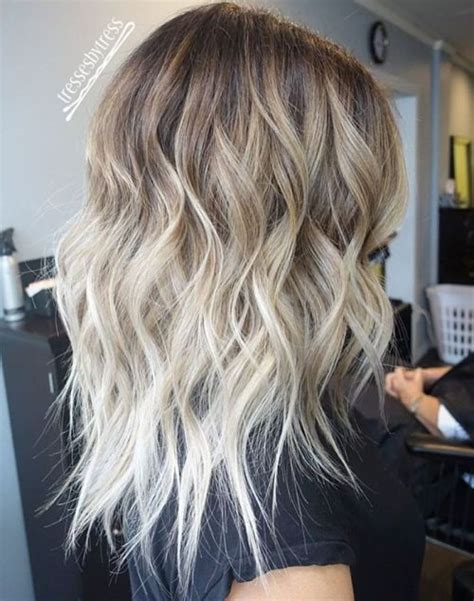 blond braun ombre 40 hair сolor ideas with white and platinum hair