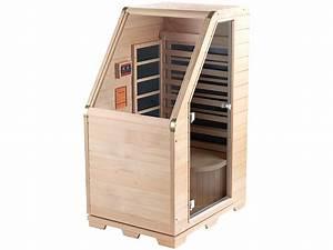Mobile Sauna Für Zuhause : newgen medicals sauna kompakte infrarot sitzsauna aus hemlock holz 760 w 0 62 m sitzsauna ~ Sanjose-hotels-ca.com Haus und Dekorationen