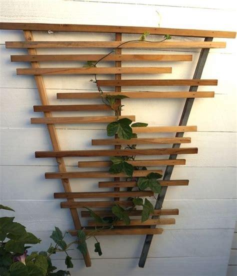 Small Wooden Trellis by Modern Wooden Trellis Reclaimed Wood Www Harwelldesign