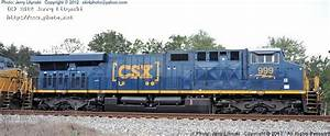 A Side View Of Csx Engine No With The New Csx Logo