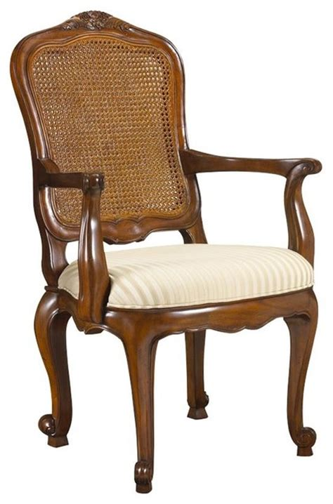heritage maison burgundy arm chair traditional