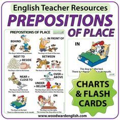 question words in wall charts and flash cards