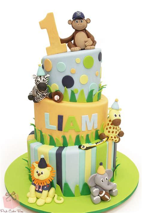 safari cakes ideas  pinterest jungle safari