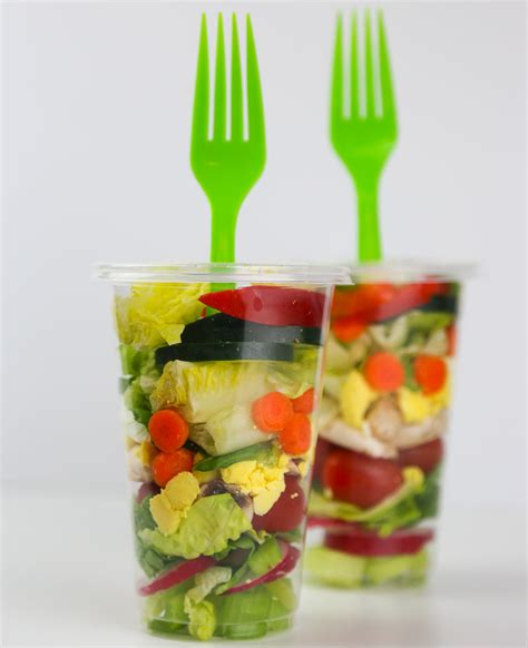 Big Kitchen Island Ideas - salad in a cup a great portable lunch aloha dreams