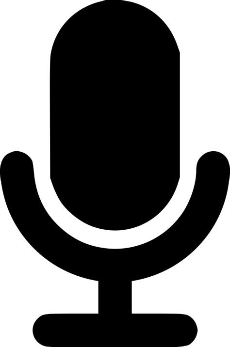 Microphone Svg Png Icon Free Download (#496757