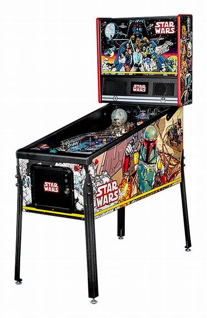 Pinball Machine Stern Wars Comic
