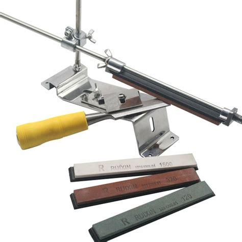 Fixedangle Knife Sharpener Kit Stainless 4 Sharpening