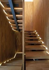 bande led pour eclairage interieur moderne joli et pratique With eclairage marche escalier interieur