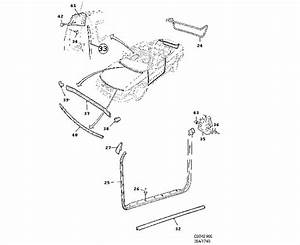 00 Saab 9 3 Convertible Body Parts