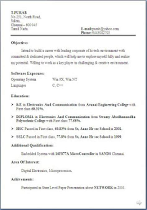 Best Resume Format In The World Filetype Doc by The Best Cv In The World
