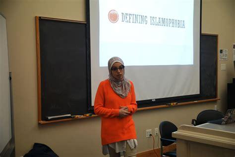Hillel And Islamic Society Host Event Against Islamophobia