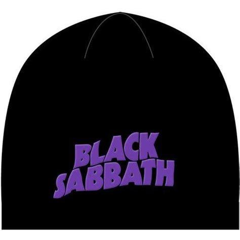black sabbath logo  devil black beanie  rockoff trade