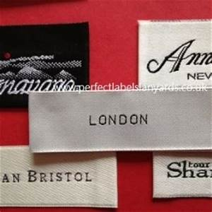 customized woven garment labels uk supplier With custom clothing labels low minimum