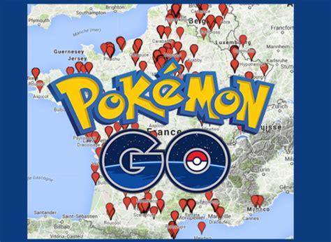 Carte Go by Pour Les Joueurs De Pok 233 Mon Go En Il Existe Une