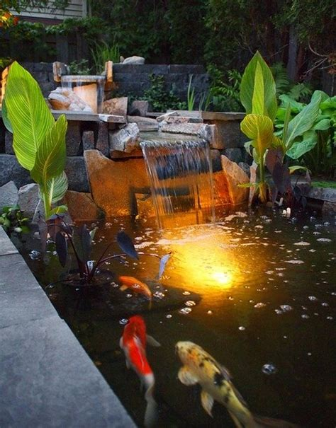 koi pond lighting ideas pond lighting ideas landscaping network