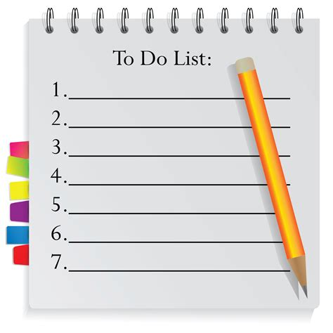 how to make a to do list in word get organised with a to do list