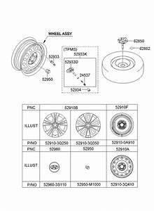 2011 Hyundai Sonata Sensor  Tire  Pressure  System  Tpms