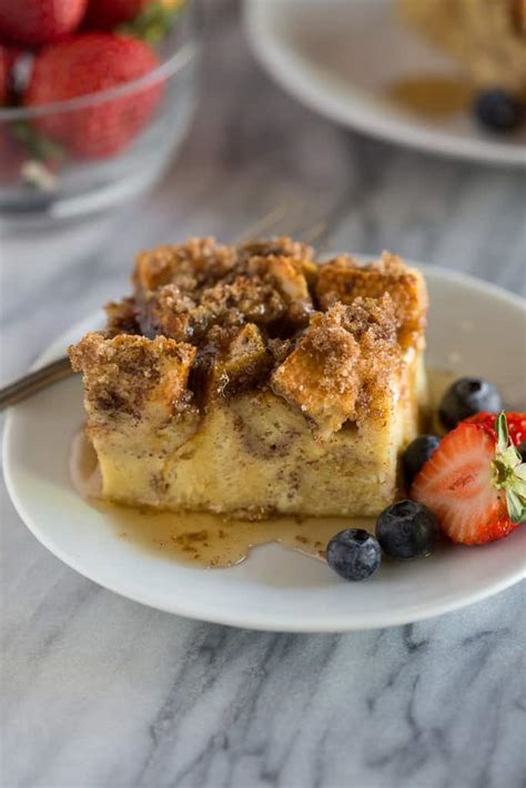 Baked French Toast Casserole Tastes Better From Scratch