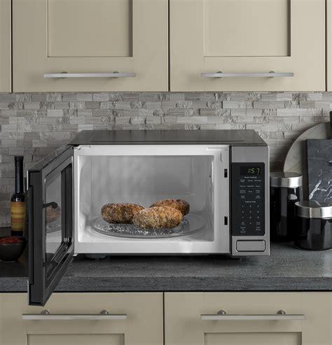 jessmss ge  cu ft countertop microwave stainless steel
