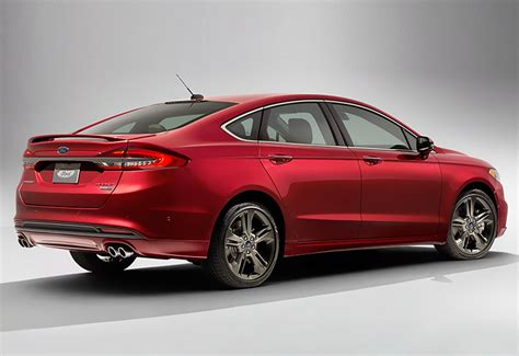 2017 Ford Fusion Sport Ecoboost