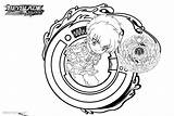 Beyblade Burst Coloring Pages Snake Butterfly Printable sketch template