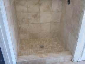 travertine tile bathroom with heated floor youtube