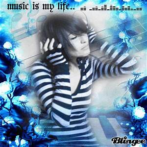 "emo - girl ""music is my life"" [xxlight] Picture #128582751 ..."