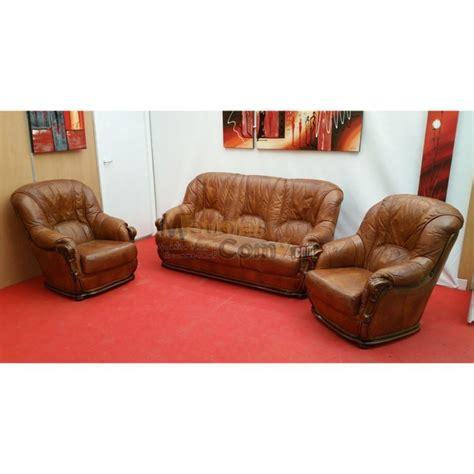 canapé 3 places fauteuil ensemble salon cuvette stylisé canapé 3 places et 2