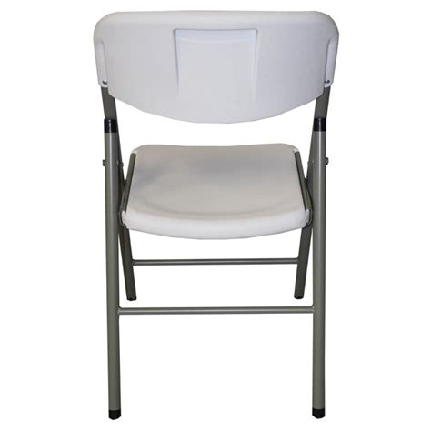 mayfield folding chair and six 6 resin banquet table set