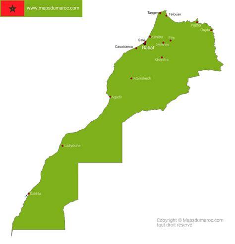 Carte Du Maroc Avec Les Principales Villes by Infos Sur Plan Maroc Arts Et Voyages